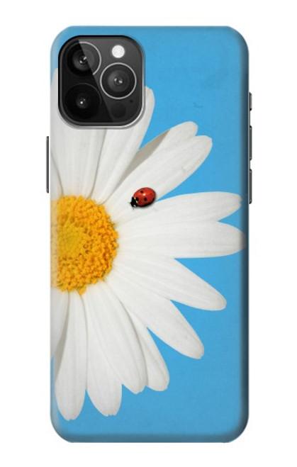 S3043 Coccinelle Daisy millésimé Etui Coque Housse pour iPhone 12 Pro Max