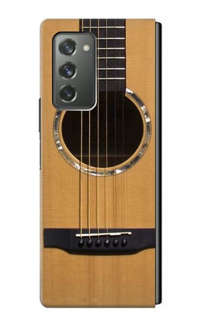 S0057 Guitare acoustique Etui Coque Housse pour Samsung Galaxy Z Fold2 5G
