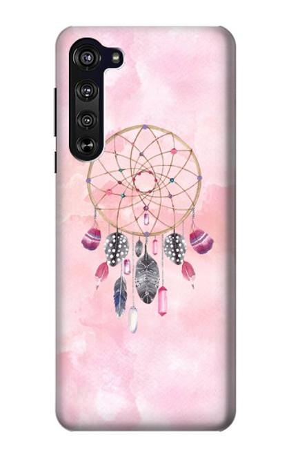 S3094 Peinture Dreamcatcher Aquarelle Etui Coque Housse pour Motorola Edge
