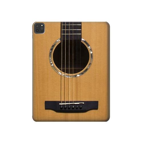 S0057 Guitare acoustique Etui Coque Housse pour iPad Pro 11 (2018,2020), iPad Air 4 (2020), iPad Air (2020)