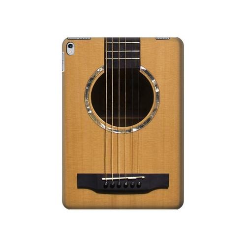 S0057 Guitare acoustique Etui Coque Housse pour iPad Air 2, iPad 9.7 (2017,2018), iPad 6, iPad 5