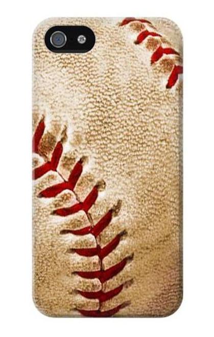 S0064 Baseball Etui Coque Housse pour iPhone 5 5S SE