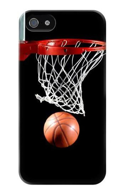 S0066 Basketball Etui Coque Housse pour iPhone 5 5S SE