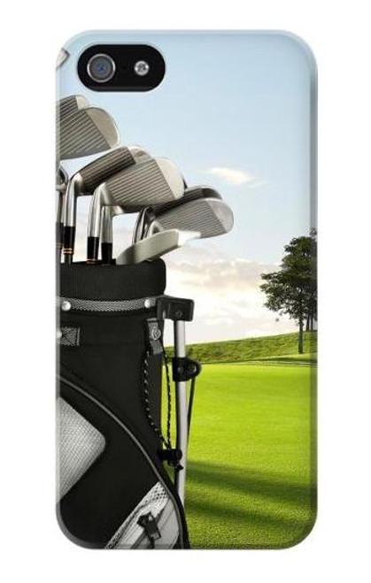 S0067 Golf Etui Coque Housse pour iPhone 5 5S SE