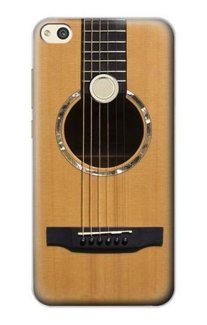 S0057 Acoustic Guitar Etui Coque Housse pour Huawei P8 Lite (2017)