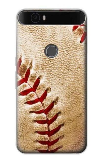 S0064 Baseball Etui Coque Housse pour Huawei Nexus 6P