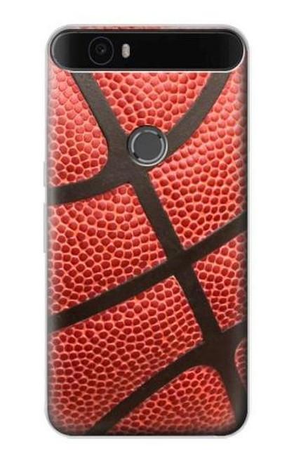 S0065 Basketball Etui Coque Housse pour Huawei Nexus 6P