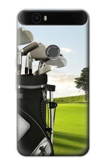S0067 Golf Etui Coque Housse pour Huawei Nexus 6P