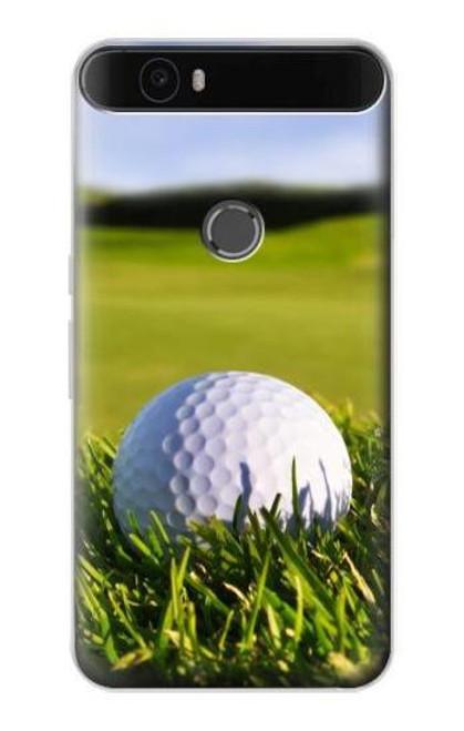 S0068 Golf Etui Coque Housse pour Huawei Nexus 6P