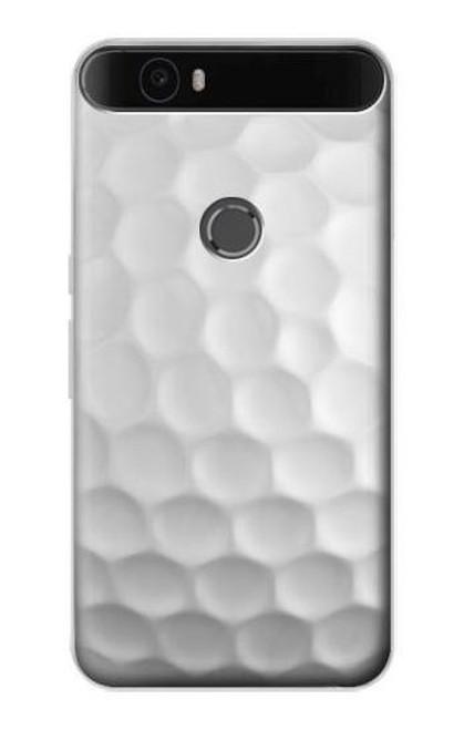 S0071 Golf Ball Etui Coque Housse pour Huawei Nexus 6P