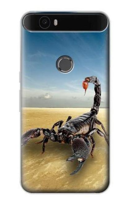 S0150 Desert Scorpion Etui Coque Housse pour Huawei Nexus 6P