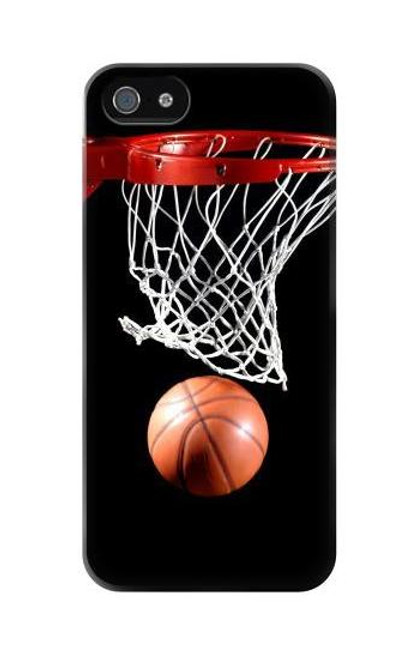 S0066 Basketball Etui Coque Housse pour iPhone 5C