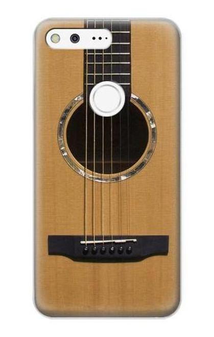 S0057 Guitare acoustique Etui Coque Housse pour Google Pixel XL