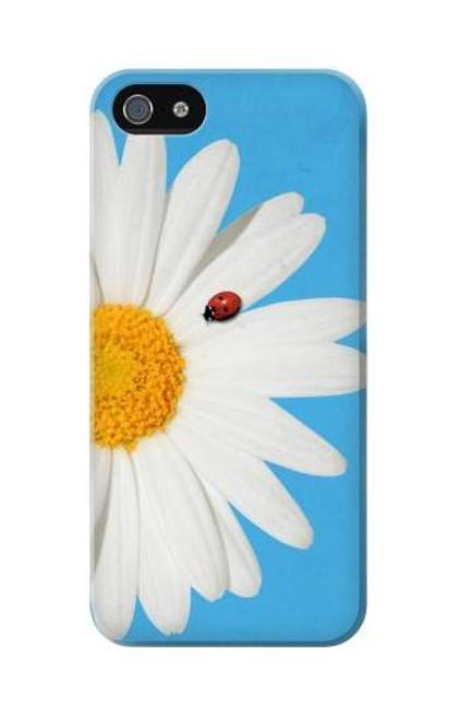 S3043 Vintage Daisy Lady Bug Etui Coque Housse pour iPhone 5C