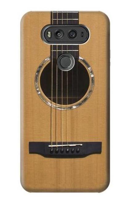 S0057 Acoustic Guitar Etui Coque Housse pour LG V20