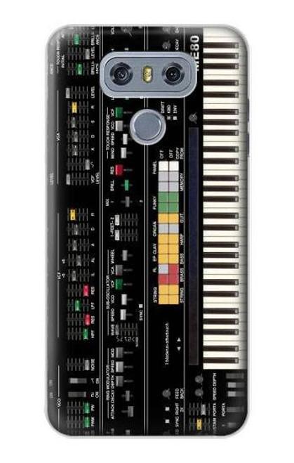 S0061 Synthesizer Etui Coque Housse pour LG G6