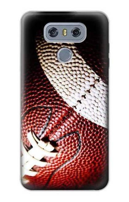 S0062 American Football Etui Coque Housse pour LG G6
