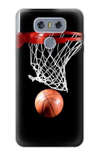 S0066 Basketball Etui Coque Housse pour LG G6