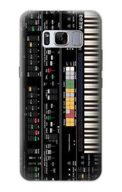 S0061 Synthesizer Etui Coque Housse pour Samsung Galaxy S8 Plus