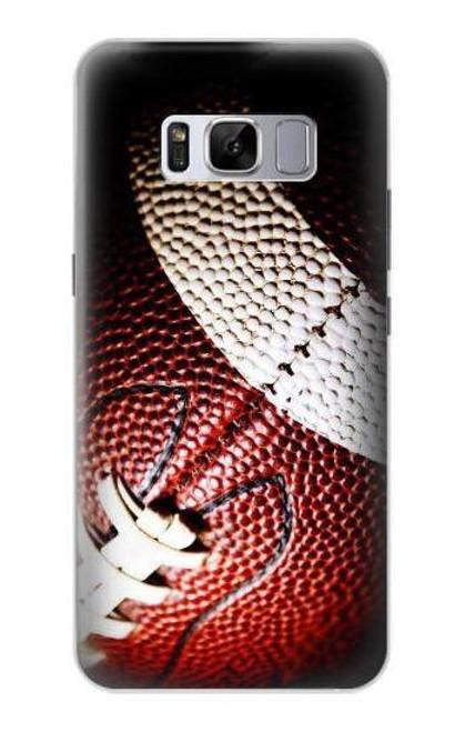S0062 American Football Etui Coque Housse pour Samsung Galaxy S8 Plus