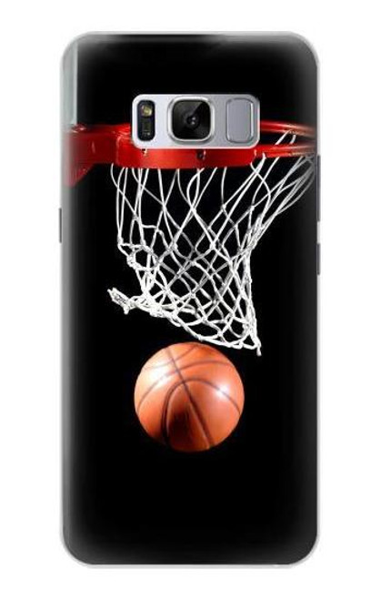 S0066 Basketball Etui Coque Housse pour Samsung Galaxy S8 Plus