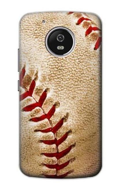 S0064 Baseball Etui Coque Housse pour Motorola Moto G5