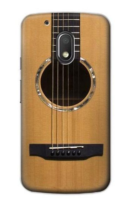 S0057 Acoustic Guitar Etui Coque Housse pour Motorola Moto G4 Play