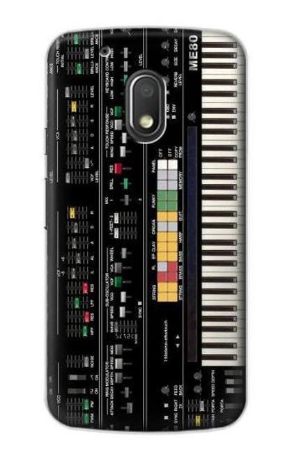 S0061 Synthesizer Etui Coque Housse pour Motorola Moto G4 Play