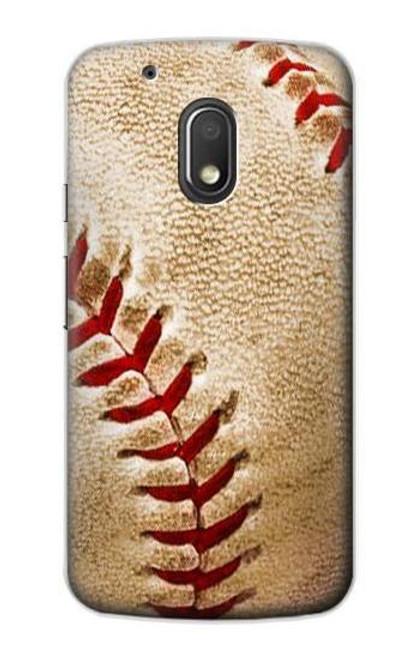 S0064 Baseball Etui Coque Housse pour Motorola Moto G4 Play