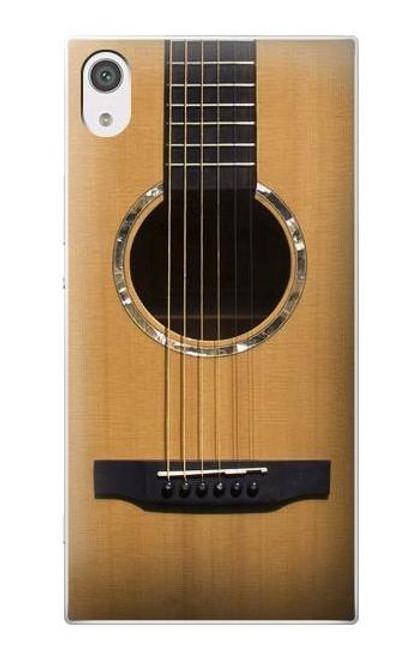 S0057 Acoustic Guitar Etui Coque Housse pour Sony Xperia XA1