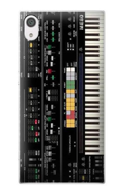 S0061 Synthesizer Etui Coque Housse pour Sony Xperia XA1