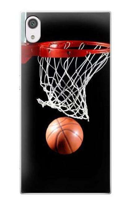 S0066 Basketball Etui Coque Housse pour Sony Xperia XA1