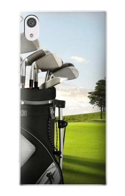 S0067 Golf Etui Coque Housse pour Sony Xperia XA1