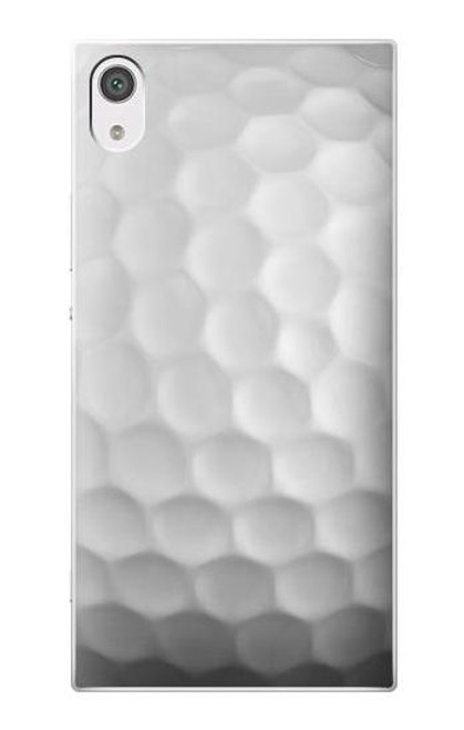 S0071 Golf Ball Etui Coque Housse pour Sony Xperia XA1