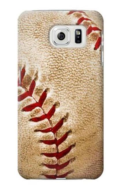 S0064 Baseball Etui Coque Housse pour Samsung Galaxy S7 Edge