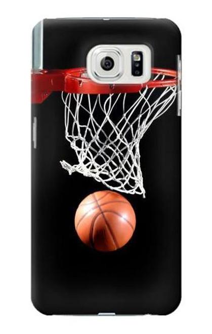 S0066 Basketball Etui Coque Housse pour Samsung Galaxy S7 Edge