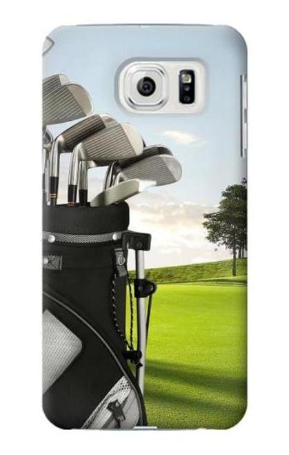 S0067 Golf Etui Coque Housse pour Samsung Galaxy S7 Edge