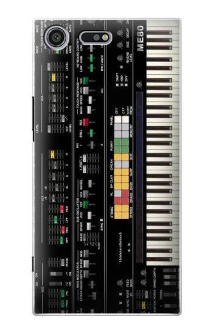 S0061 Synthesizer Etui Coque Housse pour Sony Xperia XZ Premium
