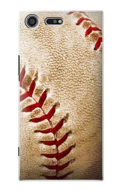 S0064 Baseball Etui Coque Housse pour Sony Xperia XZ Premium