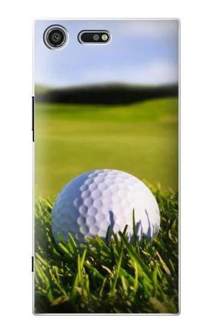 S0068 Golf Etui Coque Housse pour Sony Xperia XZ Premium