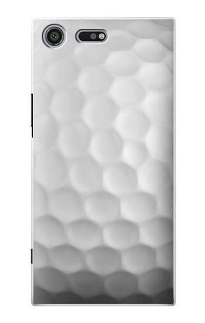 S0071 Golf Ball Etui Coque Housse pour Sony Xperia XZ Premium