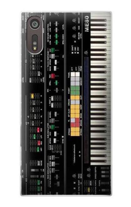 S0061 Synthesizer Etui Coque Housse pour Sony Xperia XZ
