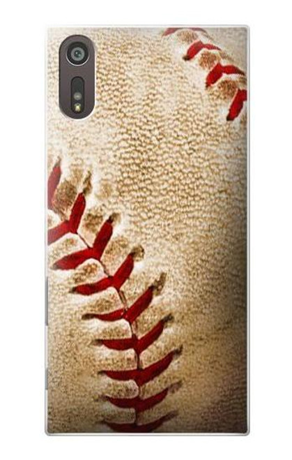 S0064 Baseball Etui Coque Housse pour Sony Xperia XZ