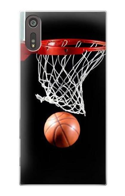 S0066 Basketball Etui Coque Housse pour Sony Xperia XZ