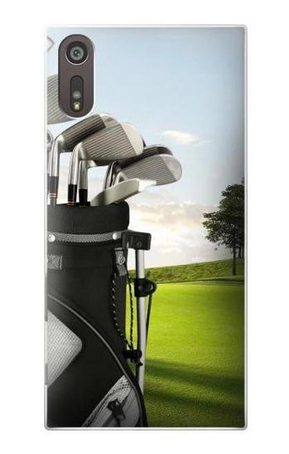 S0067 Golf Etui Coque Housse pour Sony Xperia XZ