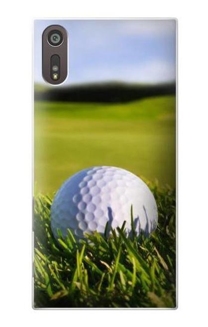 S0068 Golf Etui Coque Housse pour Sony Xperia XZ