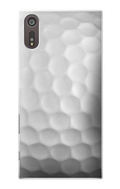 S0071 Golf Ball Etui Coque Housse pour Sony Xperia XZ