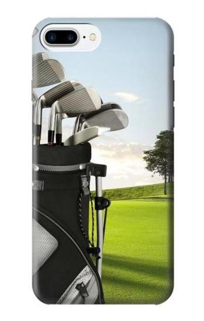 S0067 Golf Etui Coque Housse pour iPhone 7 Plus, iPhone 8 Plus