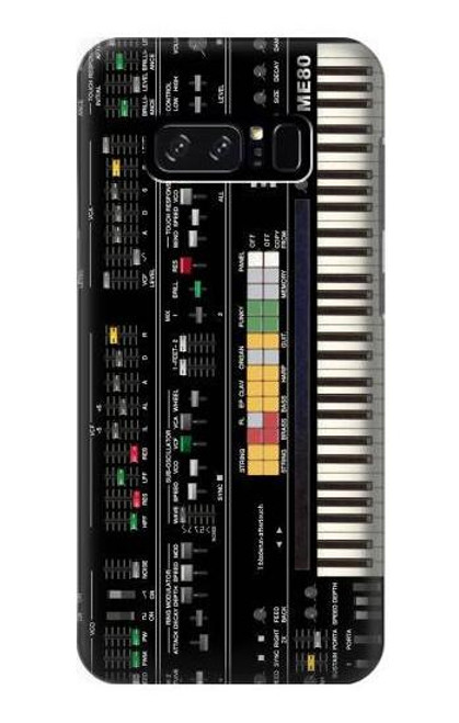 S0061 Synthesizer Etui Coque Housse pour Note 8 Samsung Galaxy Note8