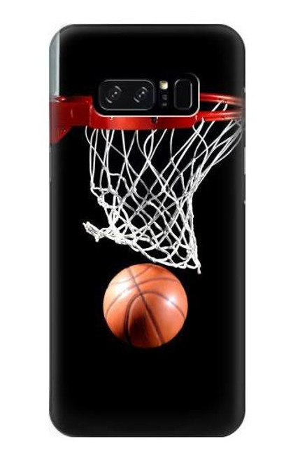 S0066 Basketball Etui Coque Housse pour Note 8 Samsung Galaxy Note8
